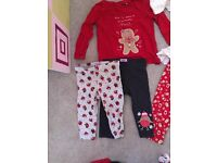6-12 month Christmas clothes