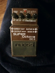 Selling Boss Super Octave OC-3 Pedal