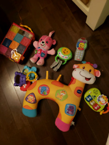 Jouets Vtech et Fisher Price