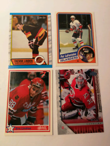 Carte Recrues Hockey Rookie Lafontaine Lindros Linden Ward
