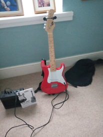 Child's electric guitar