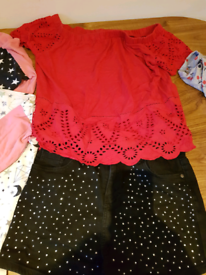 Girls clothing bundle. Ages 11 + see photos