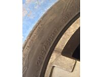 Set of tyres/Wheels for Ford Mondeo 205/50R17