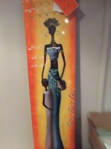 African style painting,
