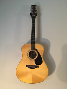 Handcrafted Yamaha LL6 Acoustic Guitar + Hardshell Case