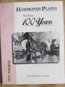 HAMMONDS PLAINS – The First 100 Years 1993