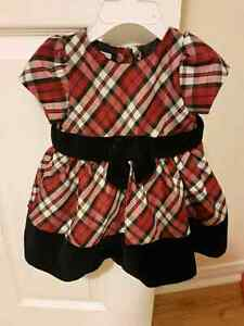 Infant dresses all different sizes