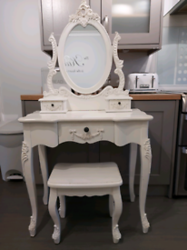 ❤ dunelm toulouse dressing table and stool