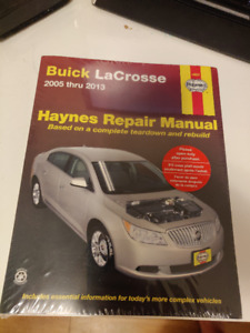 Hanes Manual for Buick Allure/Lacrosse