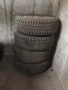 For Sale Brigetone Blizzak Winter Tire 27555R20 Aluminum Rim