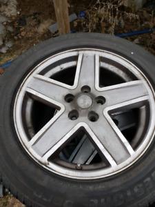 Mag de jeep 17 pouce pneu fini