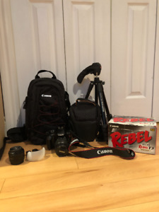 Canon EOS T3 for Sale - 550$ NEGOTIABLE