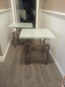 Pair of side / coffee tables