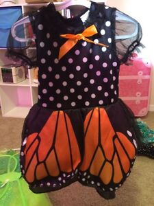 Butterfly costume - toddler size 3