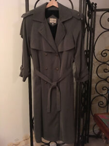 Women's Trench Coat with Winter Lining