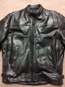 Akoury Leather Jacket & Pants and Harley Davidson Boots (Men's)