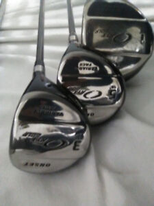 Beautiful  SET  TITANIUM ORYX Golf CLubs-Drivers/Iirons-TITANIUM