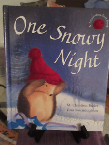 Mint - One Snowy Night by Christina Butler - Christmas Ages 2+