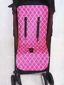 Brand new reversible universal stroller liner