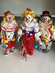 Heritage Mint -Big Top Clown Collection