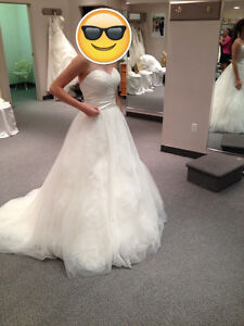 NEW LOWERED PRICE - Jacqueline Exclusive Wedding Gown Cambridge Kitchener Area image 2