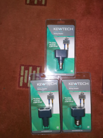 Kewtech Lightmate Testing Adaptors