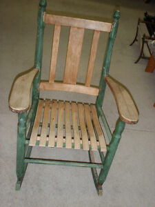 Chaise berçante / rocking chair