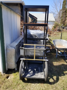 Industrial Video/ Electronics Cart