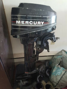 Mercury 9.9 HP Outboard Short Shaft two stroke