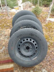 SUV Winter Tires on Rims