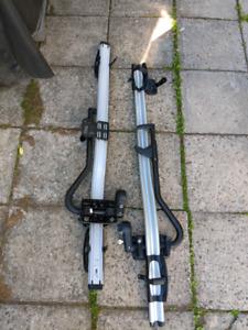Audi  genuine bike rack set of 2. Roof mount.