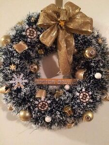 Hockey Christmas wreaths Cornwall Ontario image 1