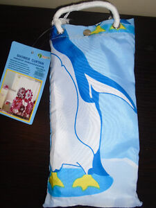 Shower curtain waterproof 180/180 cm $20  New , never used  ***P