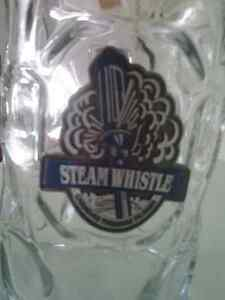"""GRAB A HOLD OF THE BIG """"STEAMWHISTLE"""" STEIN"""
