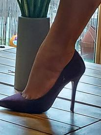 Purple stiletto Dothoty Perkins Shoes