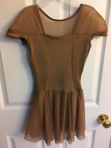 Tan Dance outfit size: Adult Small