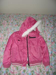 ROXY Girls' Coat  Size 5/6 – Like new