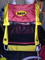 Bell double bike trailor