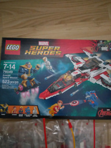 Lego Marvel Superheroes Avenjet Space Mission