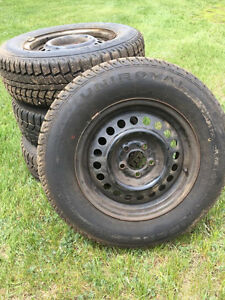 195/70R14 Winter tires and rims for sale