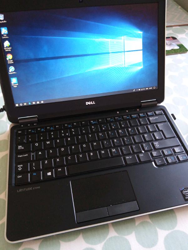 Dell Latitude E7240 - 8GB RAM/ 256GB SSD | in Dunfermline, Fife | Gumtree