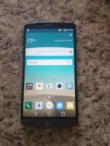 LG g3 32gb telus or koodo or public mobile
