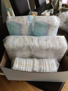 Diapers - Huggies Size 1-3