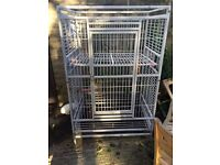 Parrot cage for sale ready to go