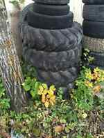 Good used tractor tires