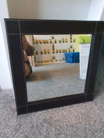 Next Faux Leather Mirror