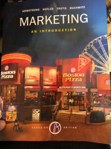Marketing an introduction : Canadian 6th Edition