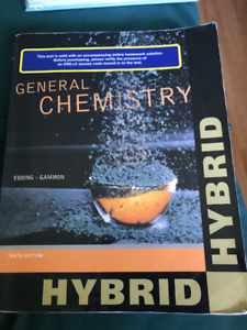 Chemistry Textbook Tenth Edition by Ebbing and Gammon