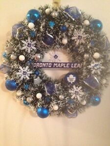 Hockey Christmas wreaths Cornwall Ontario image 4