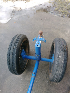 well build trailer cart open to nice offer